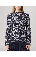 Reiss Sweater  Tessa Camouflage Knit - Lyst