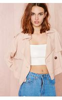 Nasty Gal Double Or Nothing Convertible Trench Coat - Lyst