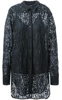Ermanno Scervino Embroidered Lace Shirt - Lyst