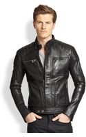 Belstaff Weybridge Quilted Leather Moto Jacket - Lyst