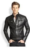 Belstaff Weybridge Quilted Leather Moto Jacket - Lyst