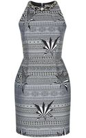 Matthew Williamson Star Jacquard Dress - Lyst