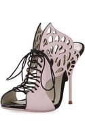Sophia Webster Kimmi Laceup Butterfly Sandal - Lyst