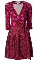 Diane Von Furstenberg Jewel Wrap Dress - Lyst