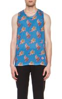 Marc Jacobs Mens Printed Cotton Tank - Lyst