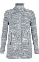Iro Ajuma Dark Grey Knit Jacket - Lyst