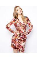Y.a.s Aysa Printed Dress - Lyst