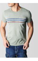 True Religion Stripe Pocket Mens Tee - Lyst