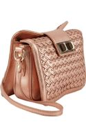 Rebecca Minkoff Basketweave Crossbody - Lyst