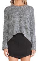 BCBGeneration Link Stitch Sweater - Lyst
