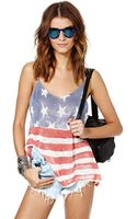 Nasty Gal Stride Of Pride Tank - Lyst