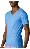 Polo Ralph Lauren Crewneck Jersey Tshirt - Lyst
