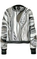 Rag & Bone Merino Patterned Knit Pullover - Lyst