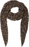 Lanvin Abstract Leopard Scarf - Lyst