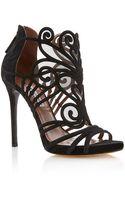 Tabitha Simmons Aura Evening Sandal with Swirl Cutouts - Lyst