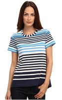 Marc By Marc Jacobs Paradise Stripe Jersey Top - Lyst