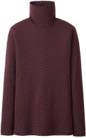 Uniqlo Women Heattech Turtle Neck T-shirt Long Sleeve - Lyst