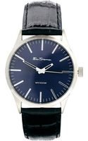 Ben Sherman Blue Dial Leather Strap Watch Bs060 - Lyst