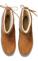 Toms Suede Trim Womens Nepal Boots - Lyst