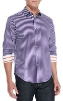 Robert Graham Abingdon Striped Sport Shirt - Lyst