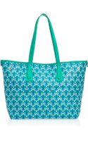 Liberty London Green Little Marlborough Small Tote Bag - Lyst