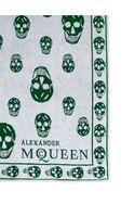 Alexander McQueen Allover Skull Beach Towel - Lyst