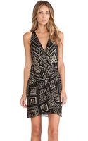 Parker Reina Sequin Dress - Lyst