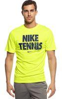 Nike Tennis Read Tshirt - Lyst