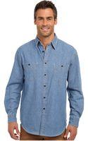 Pendleton Rivergrove Denim Shirt - Lyst