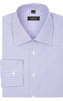 Barneys New York Plaid Shirt - Lyst