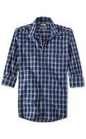 American Rag Roosky Slimfit Plaid Shirt - Lyst