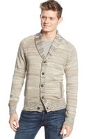 American Rag Marled Shawl-collar Cardigan - Lyst