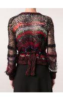 Rodarte Open Knit Sweater - Lyst