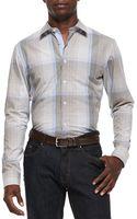Michael Kors Radford Check Shirt - Lyst