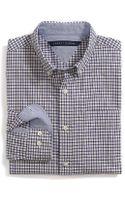 Tommy Hilfiger Custom Fit Tattersall Shirt - Lyst