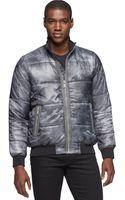 Calvin Klein Jeans Metallic Quilted Jacket - Lyst