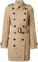 Burberry London Lace Trench Coat - Lyst