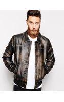 Asos Leather Jacket - Lyst