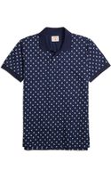 Brooks Brothers Palm Tree Print Polo Shirt - Lyst