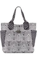 Marc By Marc Jacobs Pretty Nylon Tate Medium Tote Bag Blackwhite - Lyst