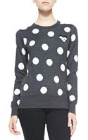 French Connection Polka-dot Mouse-detailed Sweater - Lyst