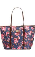 Dooney & Bourke Cabbage Rose Shopper - Lyst