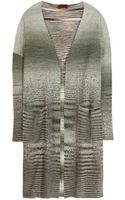 Missoni Knitted Cardigan - Lyst