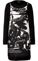 Anna Sui Jacquard Dress - Lyst