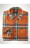 Polo Ralph Lauren Plaid Jacquard Twill Workshirt - Lyst