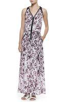 Nanette Lepore Love in Havana Printed Maxi Dress - Lyst