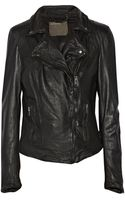 Muubaa Monteria Leather Biker Jacket - Lyst