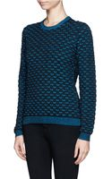 Opening Ceremony Scale Stitch Sweater - Lyst