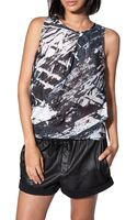 Helmut Lang Pleat Neck Tank Top - Lyst