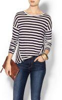 Glamorous Shadow Stripe Top - Lyst